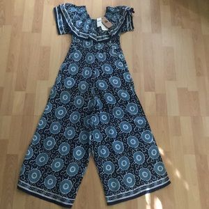 Anthropologie NWT new romper jumpsuit XS P petite